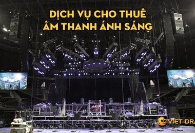 Dịch vụ cho thuê âm thanh ánh sáng Đà Nẵng