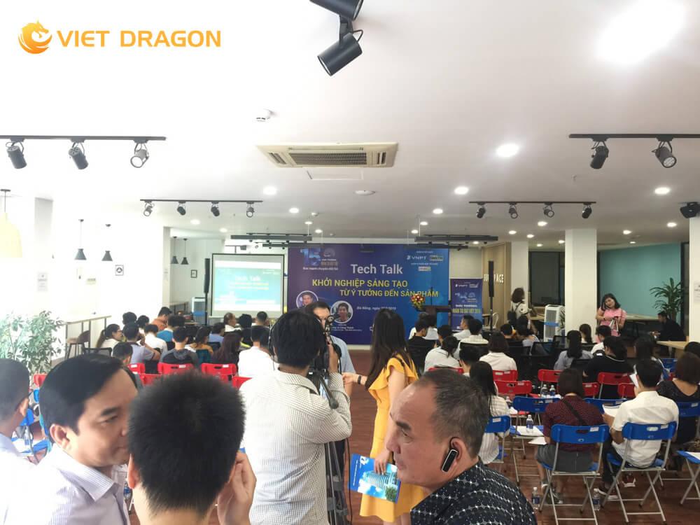 Hình ảnh thực tế tại sự kiện Tech Talk tại Đà Nẵng