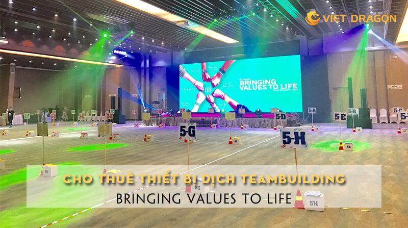Cho thuê thiết bị dịch di động teambuilding