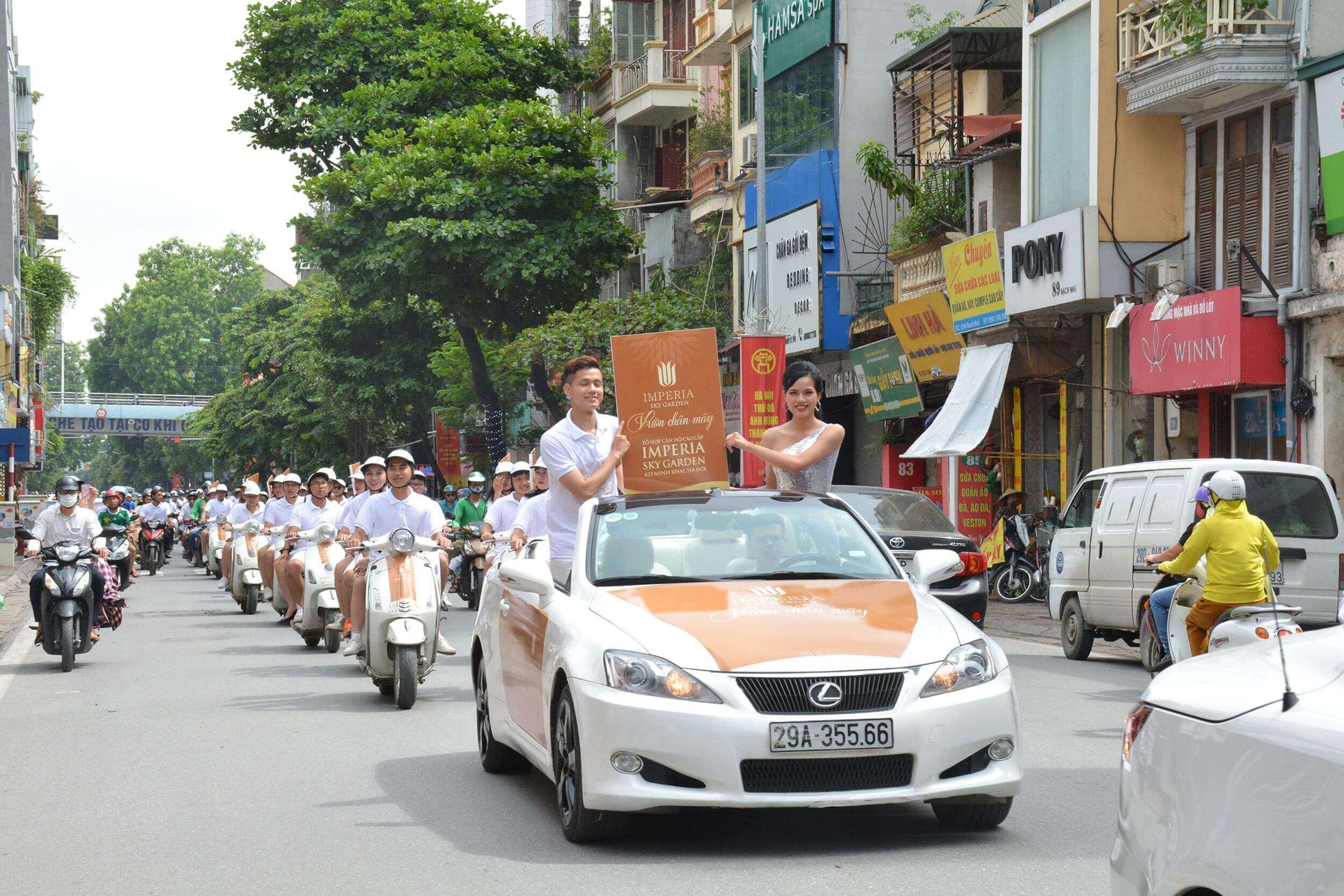 Thời điểm tổ chức chạy roadshow Đà Nẵng