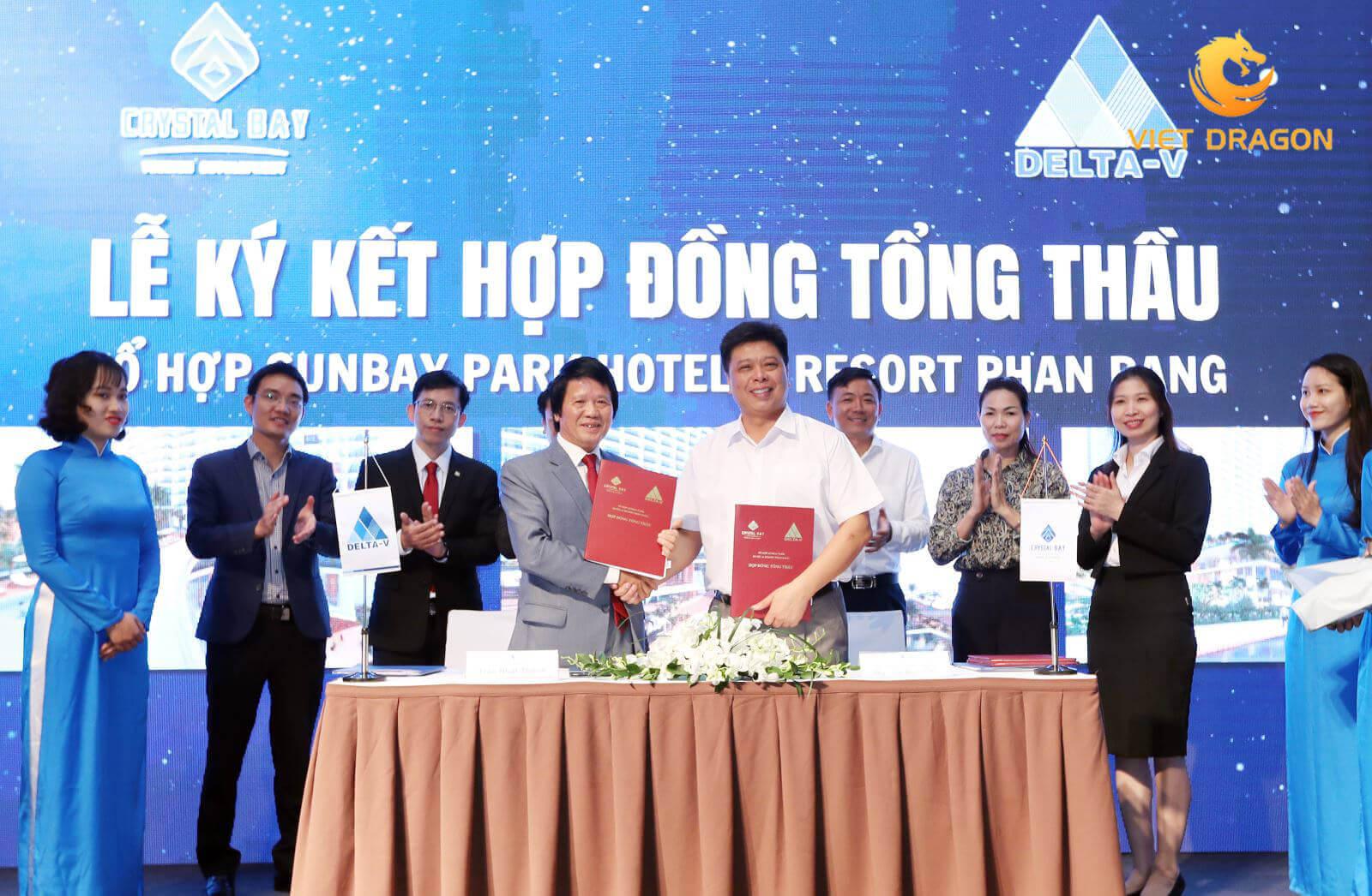 tổ chức lễ ký kết hợp đồng Đà Nẵng 5