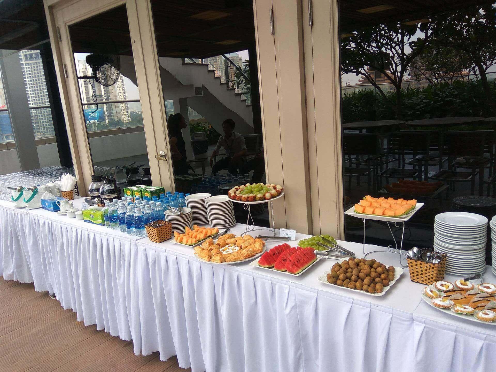 tổ chức tiệc trà teabreak tại Đà Nẵng 4