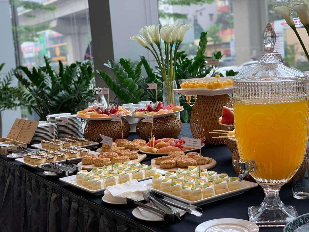 tổ chức tiệc trà teabreak tại Đà Nẵng 3